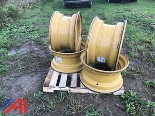 (4) CAT Loader Rims