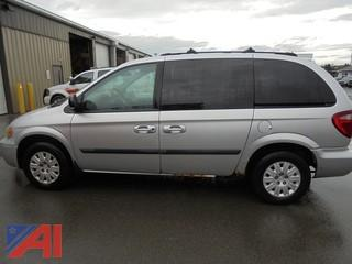 2005 Chrysler Town & Country Mini Van