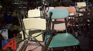 (20) Assorted School Chairs