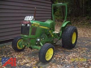 1985 John Deere 950 31HP Tractor
