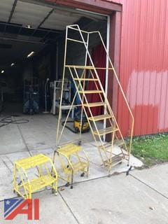 (3) Rolling Ladders