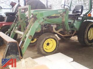 1990's John Deere 855 Tractor
