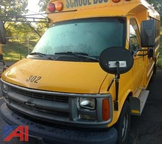2002 Chevrolet Express 3500 School Bus