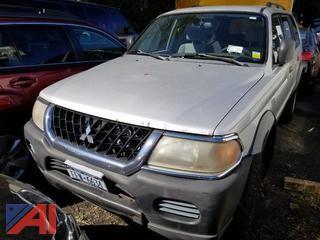 2002 Mitsubishi Montero SUV