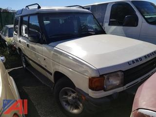 1998 Range Rover Discovery SUV