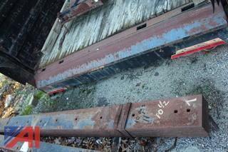 (10) 11' Frink Plow Blades