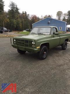1986 Chevrolet M1008 Pickup Truck