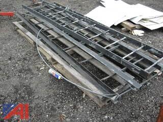 (4) Steel Ladders