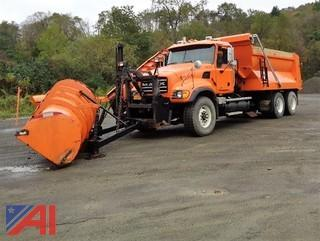 2004 Mack CV713 6x4 Granite Dump Truck & Plows
