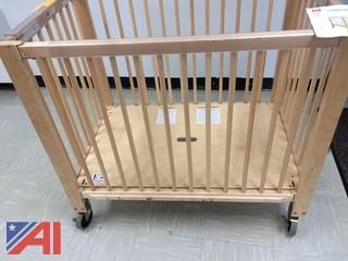 (8) Community Playthings Cribs