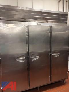 Traulsen 3 Door Restaurant Freezer