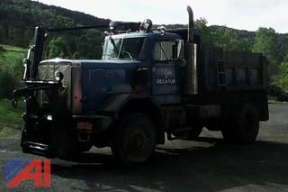 1986 Autocar DKM Dump Truck