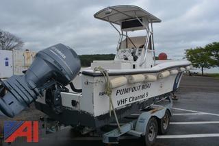 2005 Pump Kleen Pumpout Boat