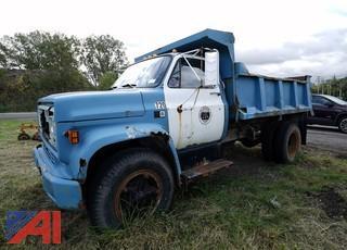 1986 GMC 6000 Dump Truck/720