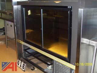 Refcon Glass Display Cooler