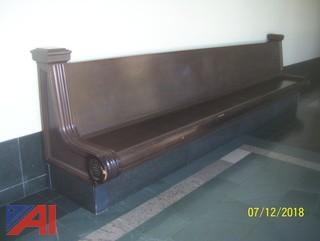 Large Single Sided Benches