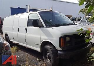 2002 Chevrolet Express 3500 Van