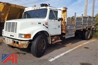 2000 International 4700 Low Profile Recycling Truck