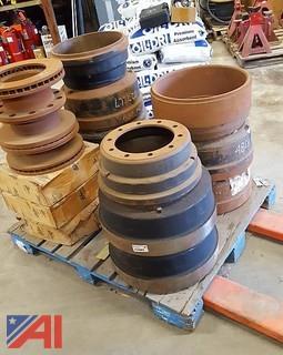 Pallet of Assorted Brake Drums