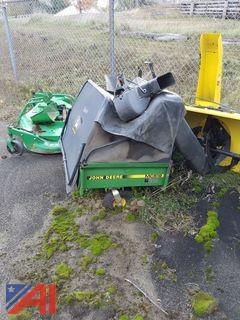 John Deere MC519 Bagger and Wagon