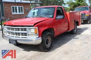 1998 Chevrolet C/K 3500 Utility Truck
