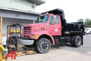 1999 Sterling L7501 Dump Truck with Plow