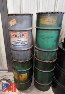 Drums of Lubricant, Including (15-20) Gallon Size
