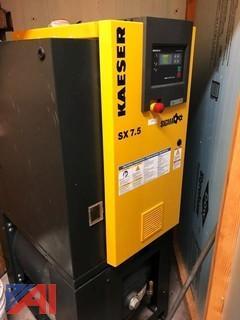 Kaeser #SX 7.5 Sigma, Rotary Screw Air Compressor