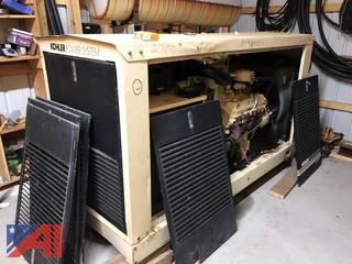 Kohler 125 KVA Natural Gas Generator, #100RZ