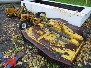 1992 Woods #9976 Rotary Ditch Bank Mower Attachment