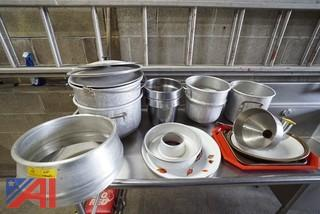 Assorted Stock Pots and Related