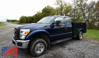 **4% BP** 2016 Ford F250 XL SD Service Utility Truck