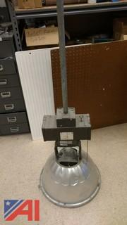 400 Watt Lumark Metal Halide Gym Lights