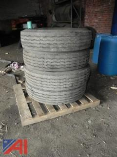 New/Old Stock Goodyear 10.00R20 Tires