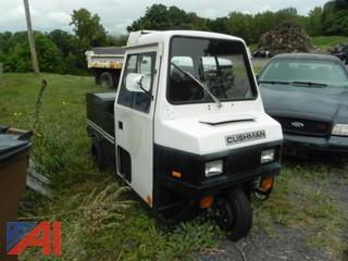 1993 Cushman Hauster 3 Wheel Vehicle