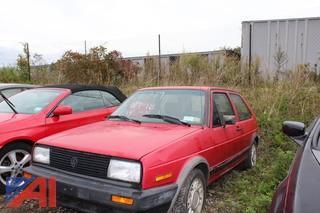 1986 Volkswagen Golf 2 Door
