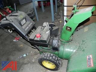 "32"" John Deere, TRS32 Snowblower"