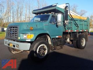1997 Ford F800 Series Dump Truck