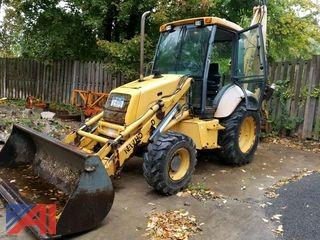 1996 New Holland 555E Backhoe