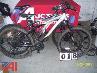 Fuji and Rincon Bikes