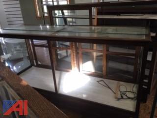Oak Glass Case