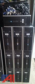 HP Elite 8200 Towers with Cables & Keyboards, (21)