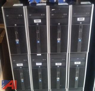 **Lot Updated** HP Elite 8200 Towers - Bare Bones, (26)