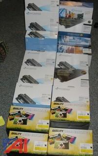Various Laser Printer Toners