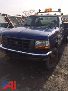 1996 Ford F450 SD Truck with Utility Body