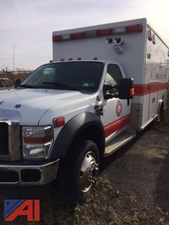 2010 Ford F450 Ambulance