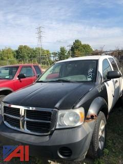 2008 Dodge Durango SUV Police Vehicle