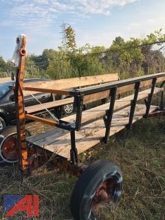 Home Made Hay Wagon