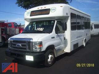 2014 Ford E450 Wheelchair Bus