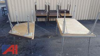 Assorted Adjustable Tables